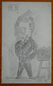 Jimmy Green from a sketch in his own autograph book