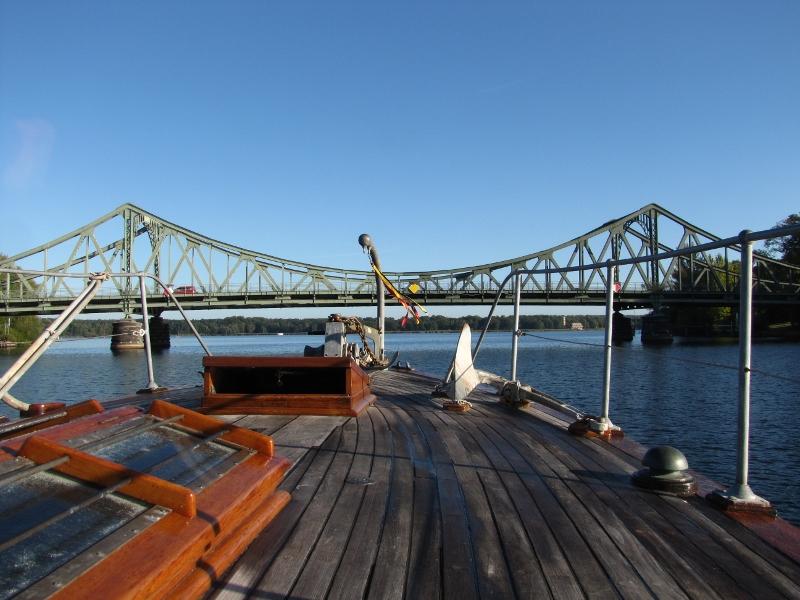 The Glienicke Bridge (Bridge of Spies)