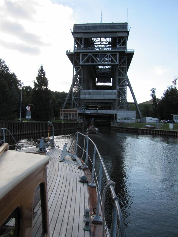 Niederfinow Ship Lift