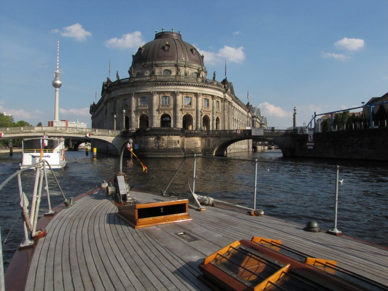 Bode Museum and TV tower Berlin