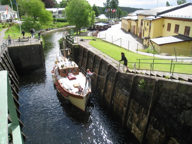 Haverud lock, Sweden 2010