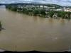Flooded Vltava, central Prague