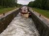 Freycinet lock, Burgundy canal