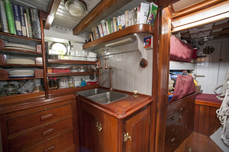 Galley (copyright Petra Hajska)