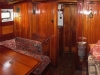 In the saloon looking towards the galley
